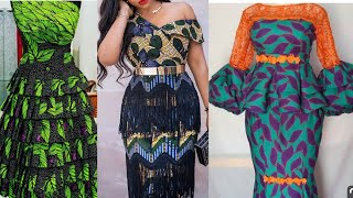 2020 Most Stylish & Flawless African Fashion Dresses : Ankara Styles / AsoEbi Styles For Beautiful