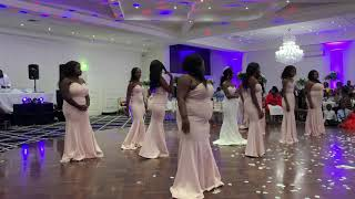Best African Bridal Party Dance Battle TK & Michelles Wedding #Teamnya