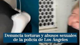 Denuncia torturas y abusos sexuales de la policía tras acudir a una manifestación