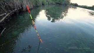 Рыбалка на закрытом водоеме в октябре