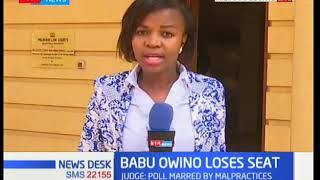 Cecilia Wakesho on the nullification of Babu Owino at Mlimani Courts