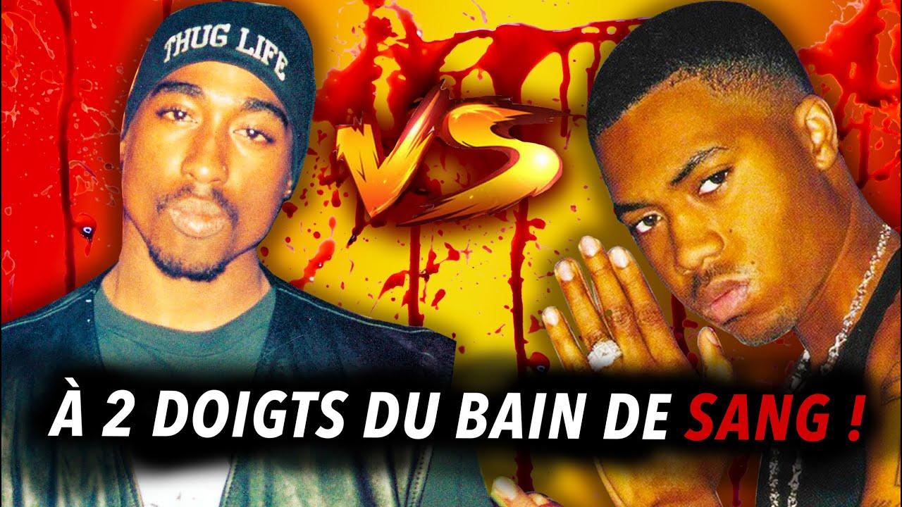 Tupac vs Nas : Une Embrouille Qui Aurait Pu Vraiment Mal Tourner - Death Row East