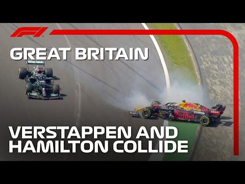 フェルスタッペン激怒!問題のハミルトンに当てられた衝撃シーン動画 F1第10戦イギリスGP(シルバーストン)