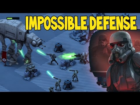 UNDEAD TROOPERS? IMPOSSIBLE HEROIC DEFENSE!!  | Star Wars Commander Empire Episode # 155