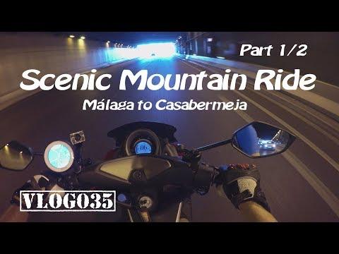 Scenic Mountain Ride - Málaga to Casabermeja - Part 1/2 - VLOG035 [4K]