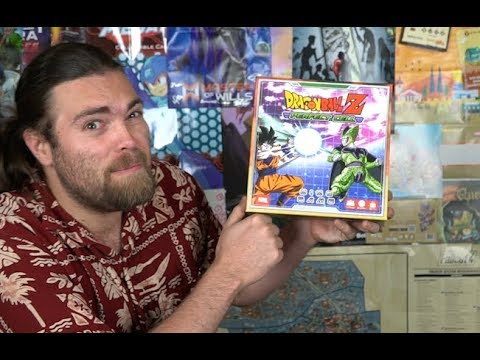 Dragon Ball Z - Perfect Cell - Board Game Review