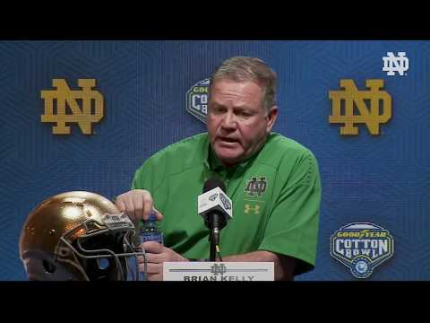 @NDFootball | Brian Kelly Post-Game Press Conference vs. Clemson (2018)