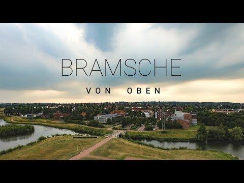 Bramsche von Oben - Drohnenaufnahmen Sommer 2017 4K
