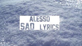 Sad Song (Lyrics) | Alesso Ft. TINI