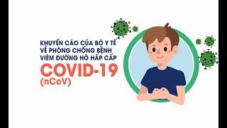 Khuyến cáo của BYT về phòng chống bệnh Covid-19