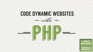Website development with PHP - Dynamic Website Tutorial