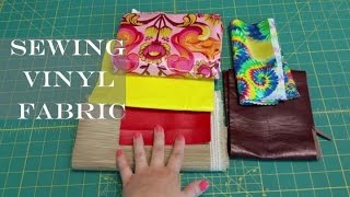 Sewing Minis (Ep 5): Mastering Vinyl/Laminated/Faux Leather Fabric