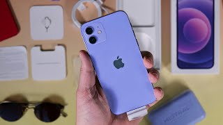 Purple Apple iPhone 12: Unboxing and first impressions