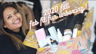 FabFitFun FALL 2020 UNBOXING 🍁