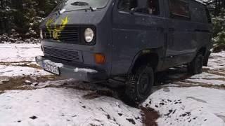 VW t2 SYNCRO 4X4 VUJO