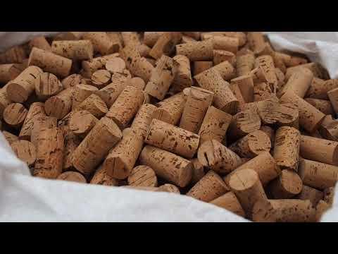 Making Corks for Wine Bottles