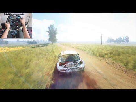 Volkswagen Polo GTI R5 - Dirt Rally 2.0 | Logitech g29 gameplay