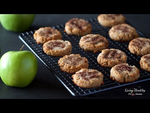 Video Healthy Apple Cinnamon Cookies (Paleo, Gluten-free, Vegan)