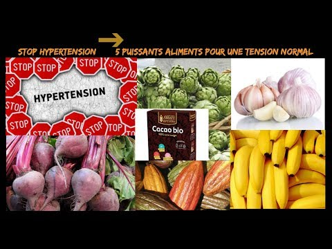 Hypertension à base de plantes