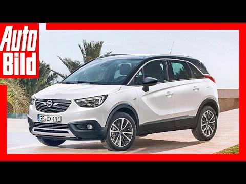 Opel Crossland X (2017) - Erste Sitzprobe im neuen Crossland X - Sitzprobe/Review