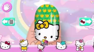 Hello Kitty  Hra Pro Dívky - Hello Kitty® Nehtové Studio