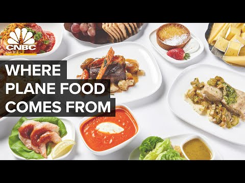 How Airlines Make Meals For Thousands Of People