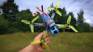 QAV220 FPV Racing Drone Обзор и Первый полёт