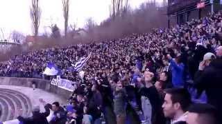 preview picture of video 'Željezničar - Olimpic Sarajevo (01.03.2015)'