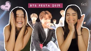 [2019 FESTA] BTS STAGE SELF CAM '앙팡맨 By BTS' @190518 New York REACTION