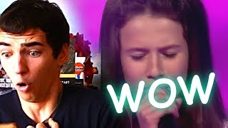 Roksana Węgiel – Purple Rain – Finał – The Voice Kids Poland || RUSSIAN REACTION