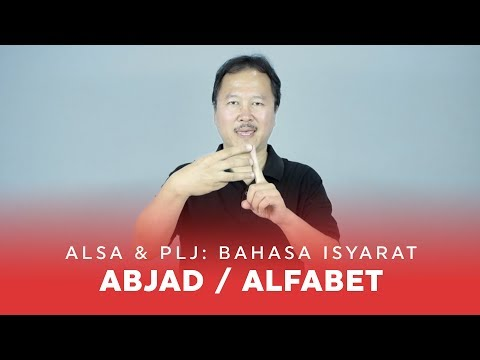 Sign Language #2: Bahasa Isyarat Abjad/Alfabet (Indonesia)
