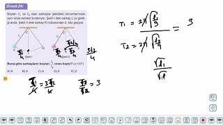 Eğitim Vadisi AYT Fizik 11.Föy Basit Harmonik Hareket 3 (Basit Sarkaç ve Sorular) Konu Anlatım Videoları