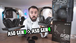Pure Enttäuschung oder König der Headsets? Das NEUE Astro A50 Gen 4 vs A50 Gen 3 | PS4 Xbox PC