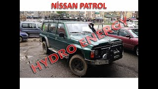 Nissan Patrol hidrojen yakı sistem montajı