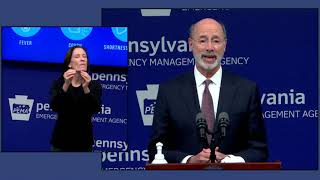 Pennsylvania Governor Tom Wolf details color-coded plan for reopening Pennsylvania