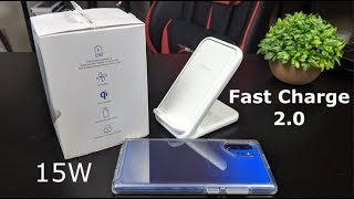 Official Samsung 15W Fast Wireless Charger Stand Review