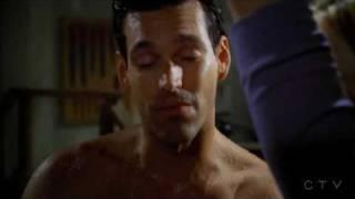 Eddie Cibrian - CM 3x02 Shower