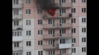 НК-ТВ: горит квартира