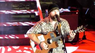 Zac Brown Toes Red Rocks