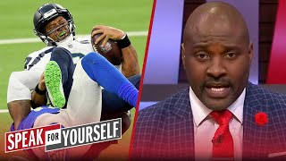 Russell Wilson might not even get one MVP vote — Marcellus Wiley | NFL | SPEAK FOR YOURSELF