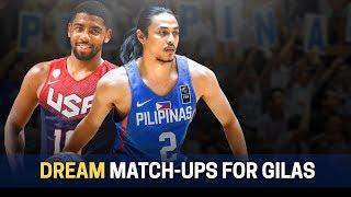 Gilas vs USA Dream Match-ups | Ricci vs Harden?