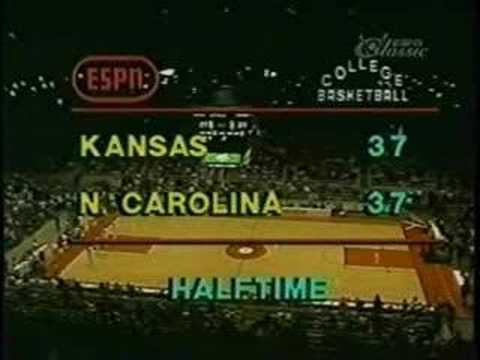 Video: Michael Jordan's first game at UNC