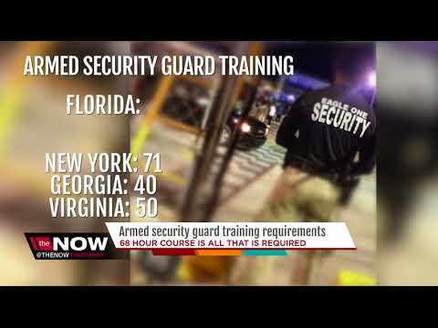 Armed security guard training requirements - YouTube
