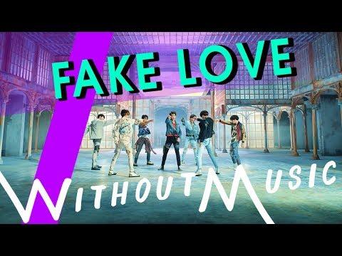 BTS - Fake Love (#WITHOUTMUSIC Parody)