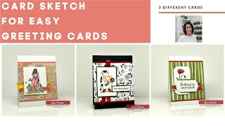 A Practical Card Sketch To Make Easy Greeting Cards