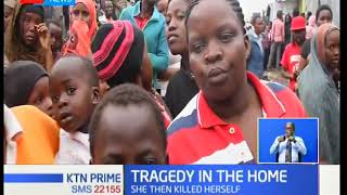 31 year old woman killed her two children then killed herself in vumilia area of Donholm