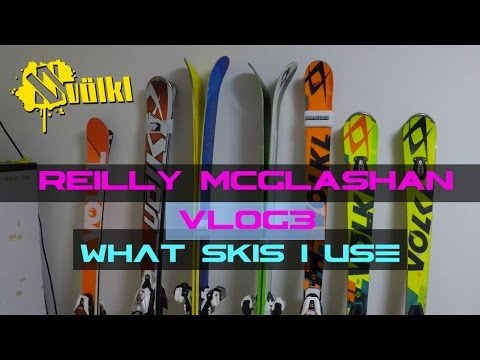 Reilly McGlashan VLOG3   What skis do I use? (Filmed with the Rider M)