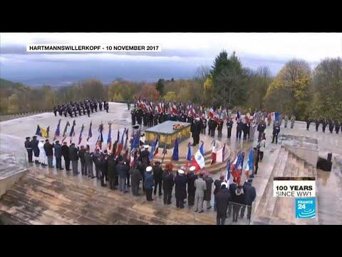 A mountaintop memorial is a symbol of Franco-German reconciliation