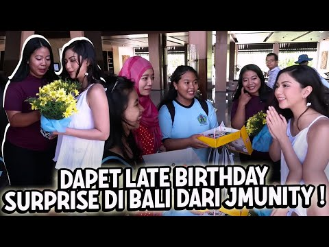 Late Birthday Surprise In BALI.. | Mila's Dairy