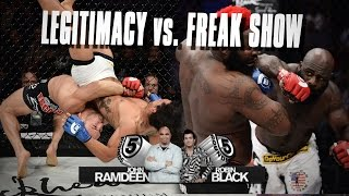 5 Rounds - Robin Black Torn Between High-Level Fights & Freak Shows at Bellator